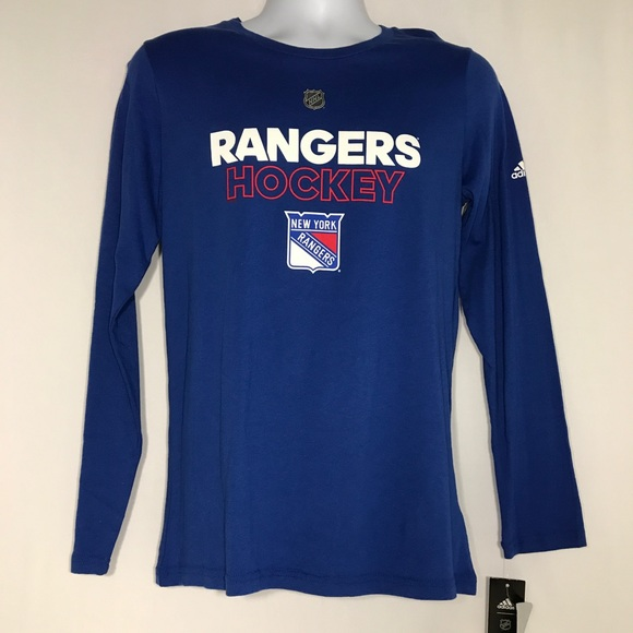 outlet store sale 513ff 74bd3 Adidas New York Rangers NHL #26 Jimmy Vesey Shirt NWT